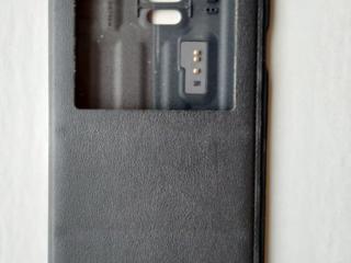 Оригинальный чехол-книжка на Samsung Galaxy Note 4 (черный)