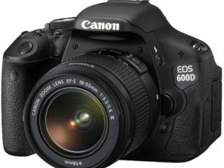 Продам фотоаппарат Canon EOS 600D Kit 18-55
