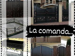 Confecționarea tuturor tipurilor de garduri, porți, balustrade, grătar