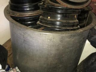 Бочка (кадка) из нержавеющей стали 500 л