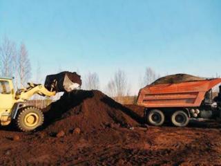 Очистка участков территорий планировка территорий доставка чернозёма вывоз мусора.