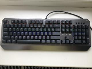 Продам клавиатуру AULA Assault Mechanical USB Metalic
