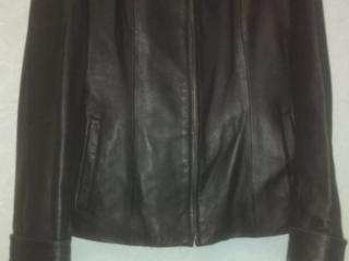 КОЖАНАЯ куртка для девушки!! ПЛАЩ жен..!
