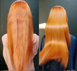 Кератин, нанопластика, наращивание волос
