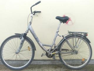 Немец, Двухподвес Alu bike