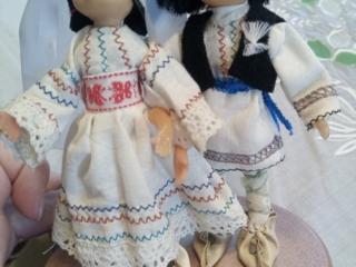 Продам молдавских национальных кукол ручной работы.