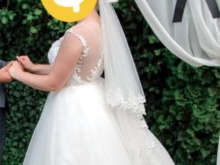 Продаётся невенчаное свадебное платья