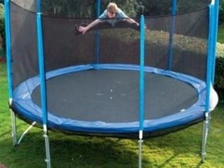 Trambulina cu diametrul 4,20m, rezistă 200kg! -p/u antrenament sportiv