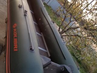 Лодка Kolibri360DSL, мотор Mercury(Tohatsu) 2T 15л. с, прицеп.