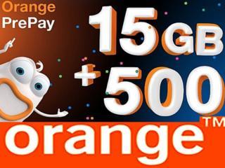 ПРОДАЖА - ПОПОЛНЕНИЕ 24/24 - Orange Оранж PrePay MD