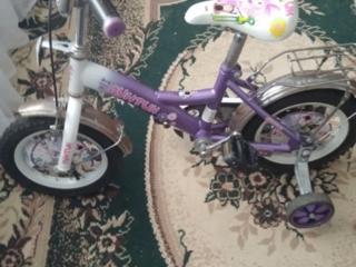 Велосипед для девочки 3-6 лет.