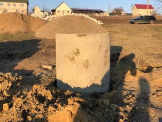 Săparea fîntînilor şi comercializarea tuburilor din beton