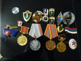 Медали, значки