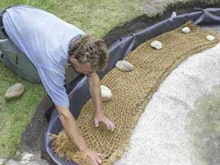 Продам кокосовая сетка, ширина 2,0м (ячейка 2020 мм. 3030мм. 5050мм)