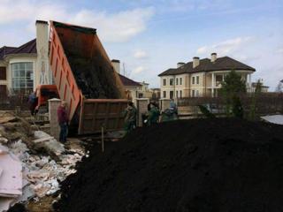 Очистка участков территорий планировка облагораживание снос демонтаж