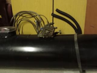 Баллон пропан на 110 лит. Мало использовался с редуктором и трубками