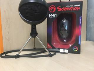 Игровая Мышь Marvo M421 и USB Микрофон