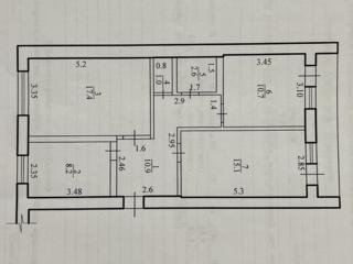 3-ка, ремонт, автономка, 2 этаж, вся мебель и техника