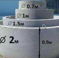 Копаем канализацию вручную и техникой есть бетонные кольца
