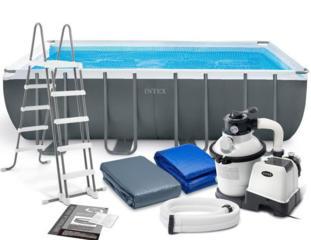 Бассейн Intex 549х274х132см в комплекте Хлоргенератор (морская вода)