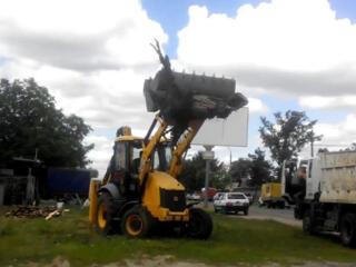 Услуги спецтехники снос демонтаж строений очистка участков территории доста
