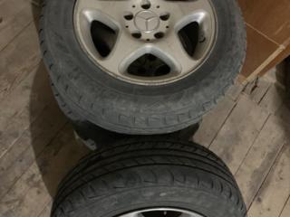 Оригинальные диски R15 5x112 с резиной