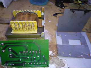 Трансформатор для УНЧ 180Вт 2х25В, 2х50В, 5В