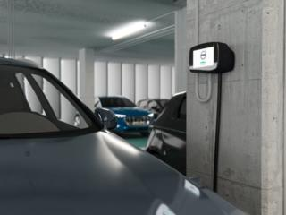 Офисные зарядные станции для электромобилей и плагинов