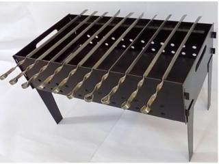 Продам стальной мангал новый