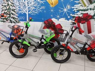 Детские велосипеды для детей от 3 до 6 лет 1299 лей.