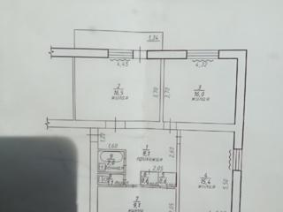 Продаётся 3-х комнатная квартира в селе Карагаш