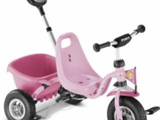 Трехколесный велосипед Puky cat. Bicicleta cu trei roti Puky