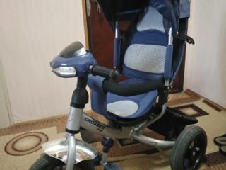 Детский велосипед с креслом б/у СРОЧНО!