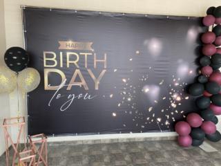 Баннер с днём рождения