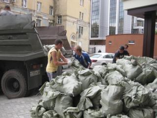 Грузчики вынос строительного мусора подъем песка цемента Квартирный пе