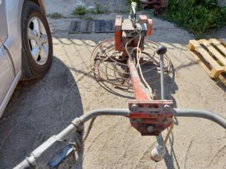 Машина для стяжки напівсухого бетону вертолет затирочна машинка