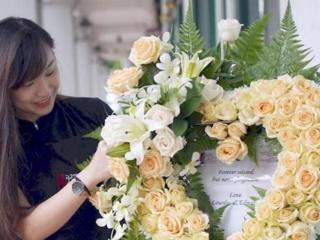 Florist-confectionare coroane funerare. Флорист - изготовление венков