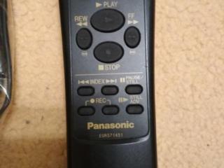 Оригинальный пульт для видеомагнитофона Panasonic.