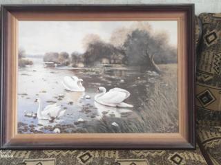 Продаются картины с видом на горы Карпат и лесное озеро