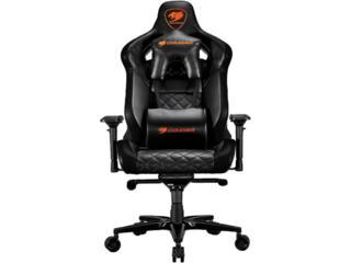 Cougar Chair ARMOR TITAN Black