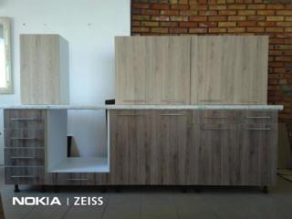 Кухня 2.6м в наличии с влагостойкой столешницей 38мм, ЛДСП-качество!!!