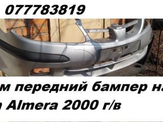 Продам передний бампер на Nissan Almera 2000 г\в