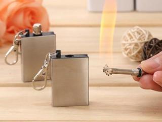 """Зажигалка """"вечная спичка"""" коробок - огниво для розжига огня, новая!"""
