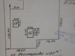 Продам участок под строительство 10 соток в г. Тирасполь (ул. Нестерова)