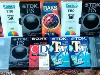 Видеокассеты б/у 13 штук