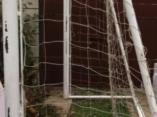 Футбольные ворота, портативные, 2м х 3м.