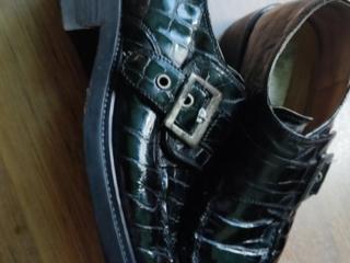 Фирменные туфли из натуральной кожи
