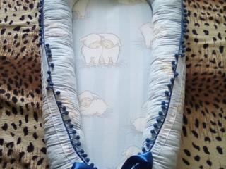 Продам кокон-гнёздышко для новорождённого
