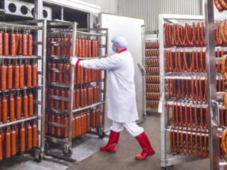 Работа в Польше - колбасный цех.