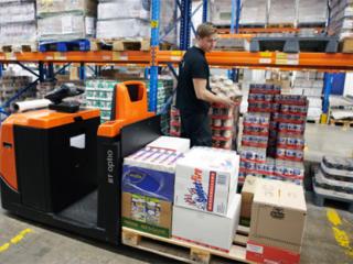 Работа в Германии, склады магазина METRO.